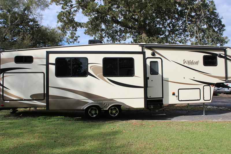 2017 New Forest River Wildcat 36bh Fifth Wheel In Texas Tx