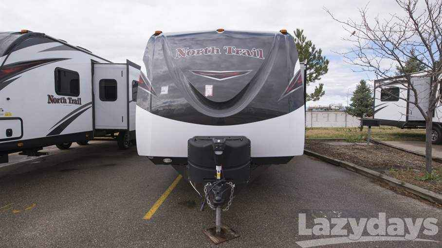Perfect 2017 New Heartland North Trail 28DBSS Travel Trailer In