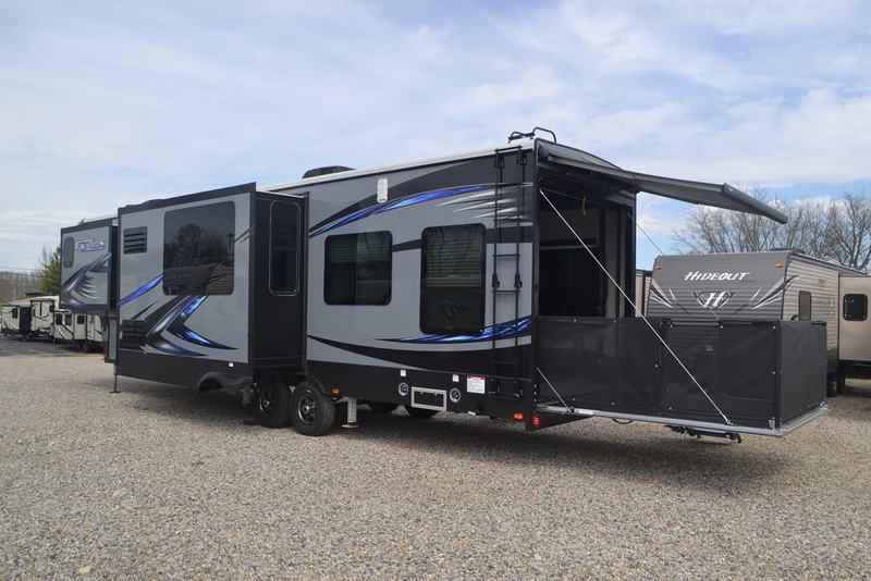 2017 New Keystone Rv Fuzion 369 Toy Hauler In Ohio Oh