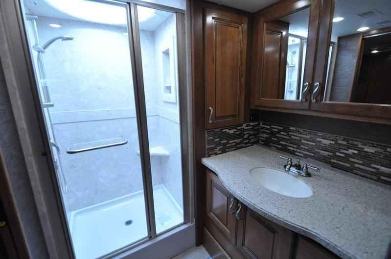 2017 new monaco rv diplomat 43g bath 1 2 luxury rv for for 2 bathroom class a rv