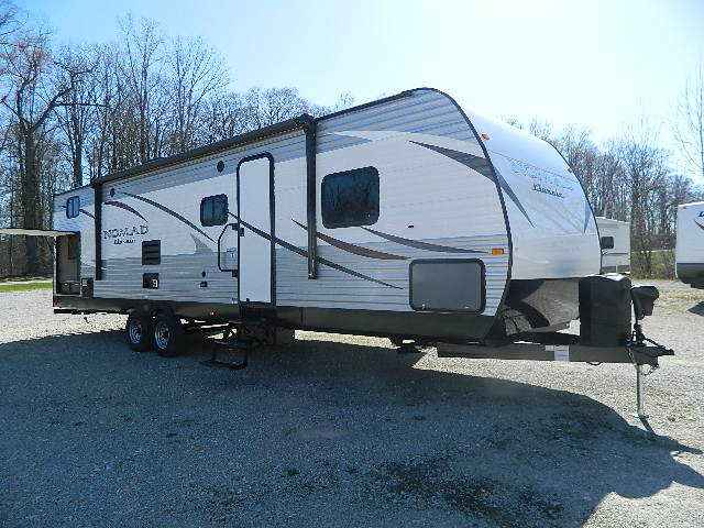 2017 new nomad 308bh travel trailer in indiana in for Nomad scheduler
