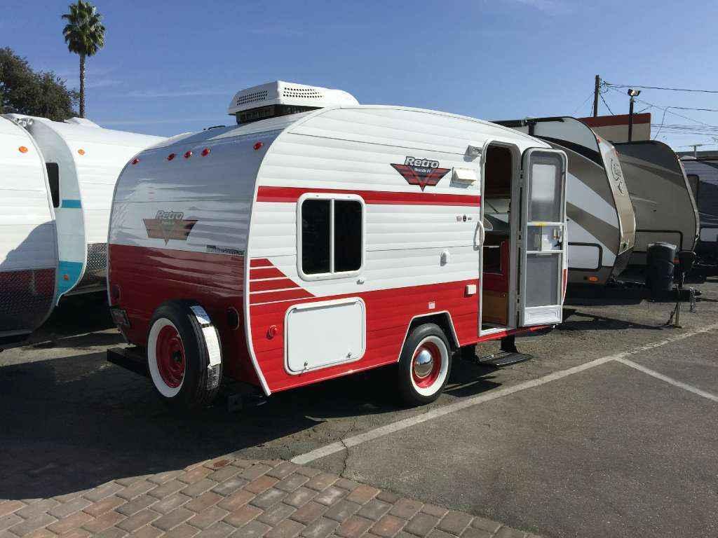 Model 2017 New Riverside Rv RETRO 166 Travel Trailer In California CA