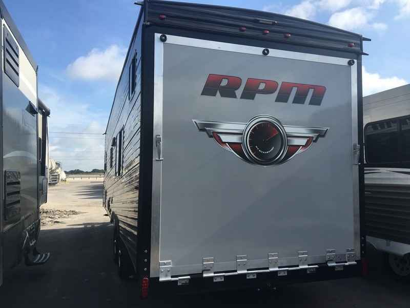 Brilliant 2017 New Riverside Trailers Toy Haulers 24FB RPM Toy