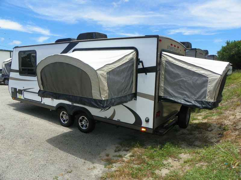2017 New Starcraft Hybrid Travel Star Expandable 229tb Trai Pop Up Camper In