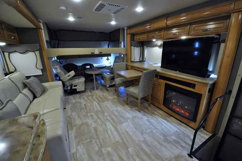 2017 new thor motor coach challenger 36tl rv for sale w for Motor coaches with 2 bedrooms