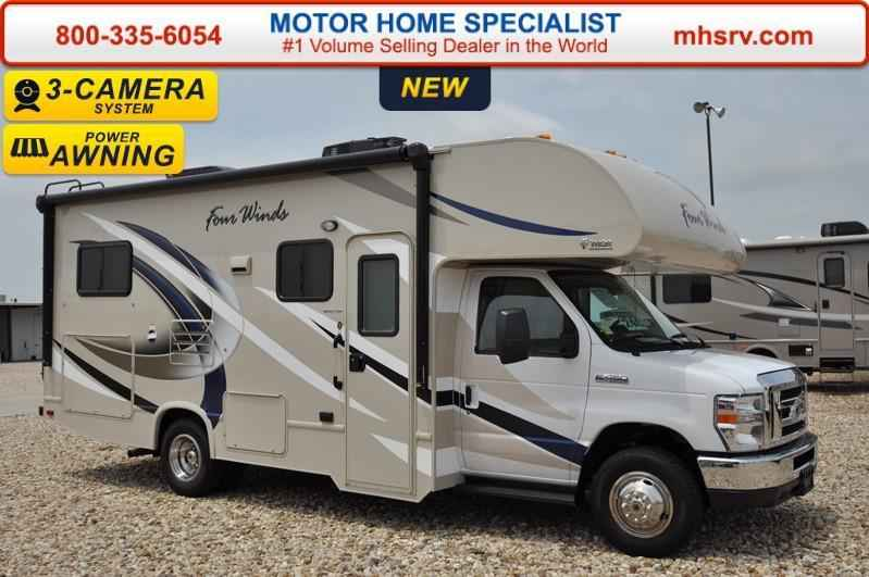 2017 New Thor Motor Coach Four Winds 24c Class C Rv For