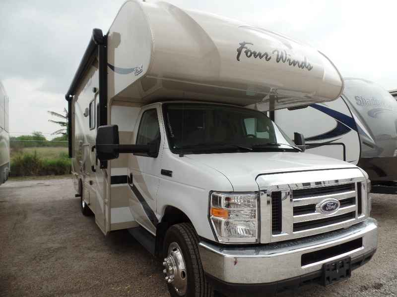 2017 New Thor Motor Coach Four Winds 24f Ford Class C In