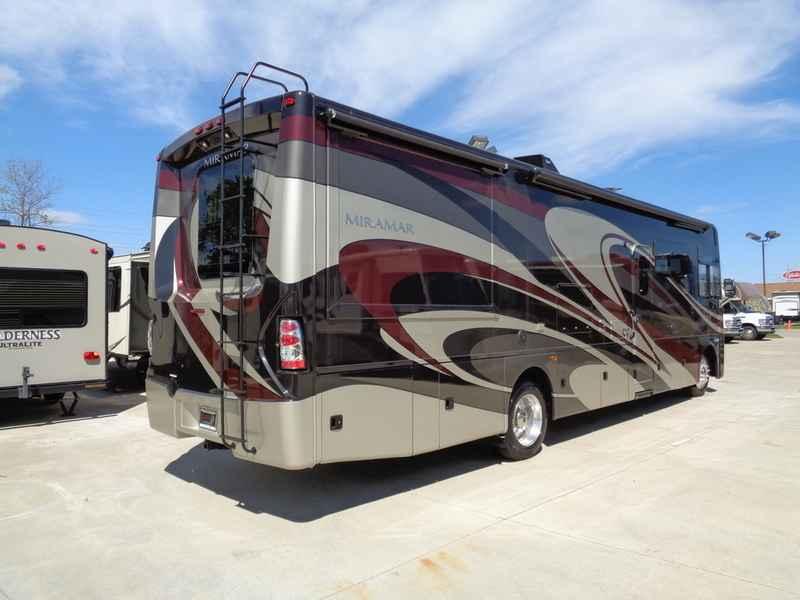 2017 new thor motor coach miramar 34 3 bunkhouse class a for Class a motor coach