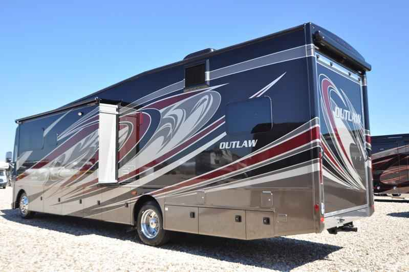 2017 New Thor Motor Coach Outlaw 37bg Bunk Room 26k Chassis 13 39 Class A In Texas Tx