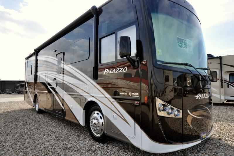 2017 New Thor Motor Coach Palazzo 33 3 Bunk Model Rv For