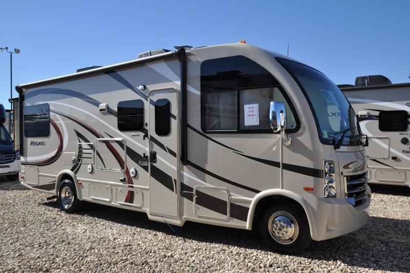 2017 new thor motor coach vegas 25 2 rv for sale at mhsrv for Motor coaches with 2 bedrooms
