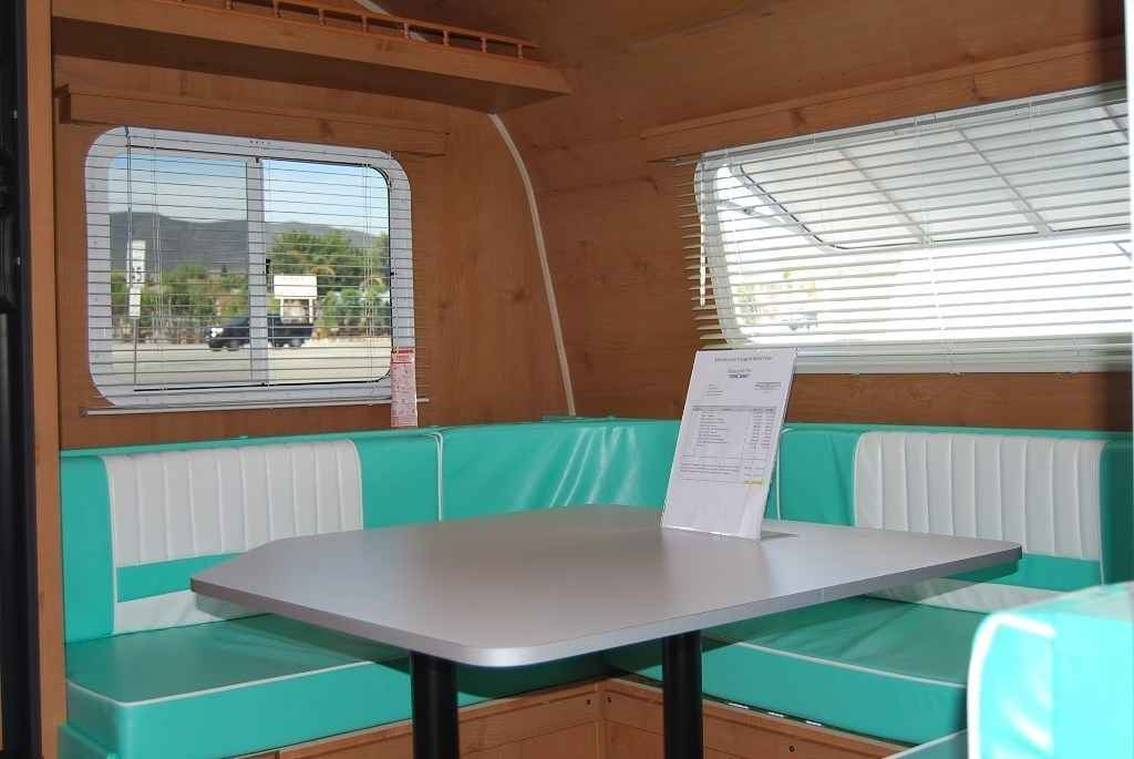 2017 New White Water Retro 195 Queen Bed U Shape Dinette Travel Trailer In California Ca
