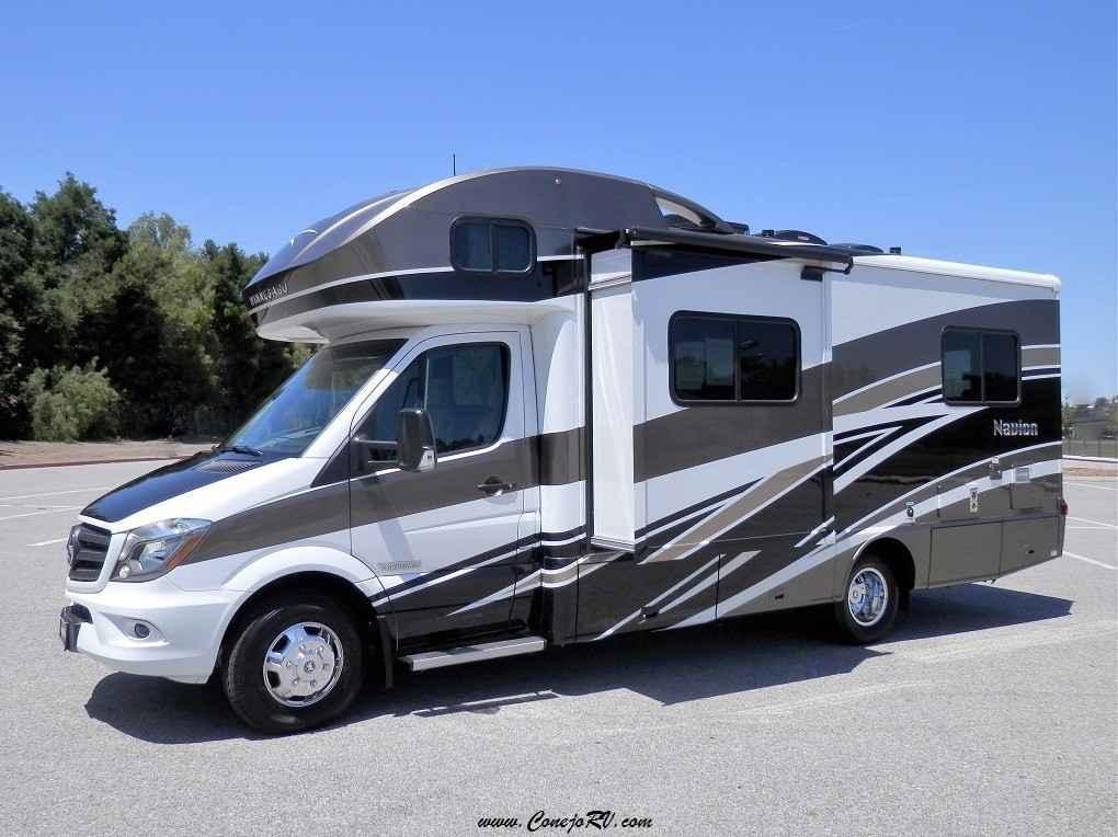Mercedes Thousand Oaks >> 2017 New Winnebago ITASCA Navion 24V Slide-Out Mercedes Diesel Full Paint Class C in California CA