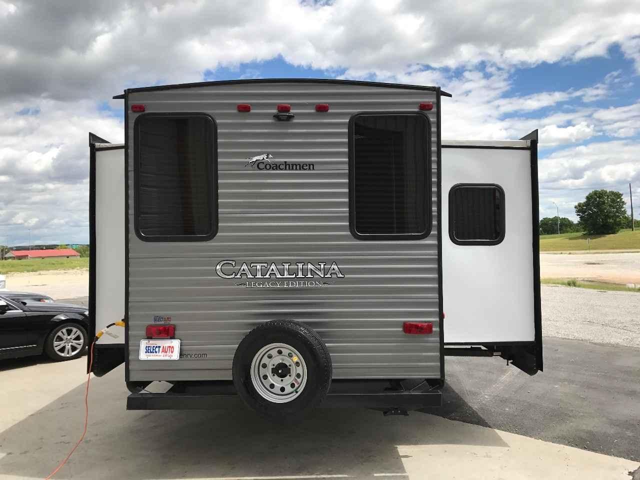 Show Me A  Coachmen Catalina Legacy Travel Trailer