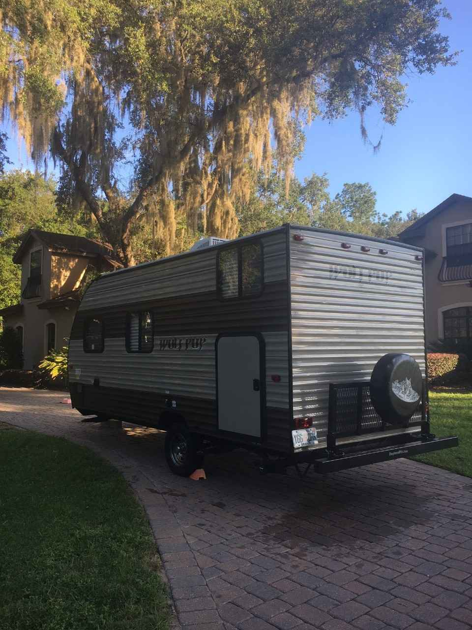 2017 Used Forest River CHEROKEE WOLF PUP 16BHS Travel ...