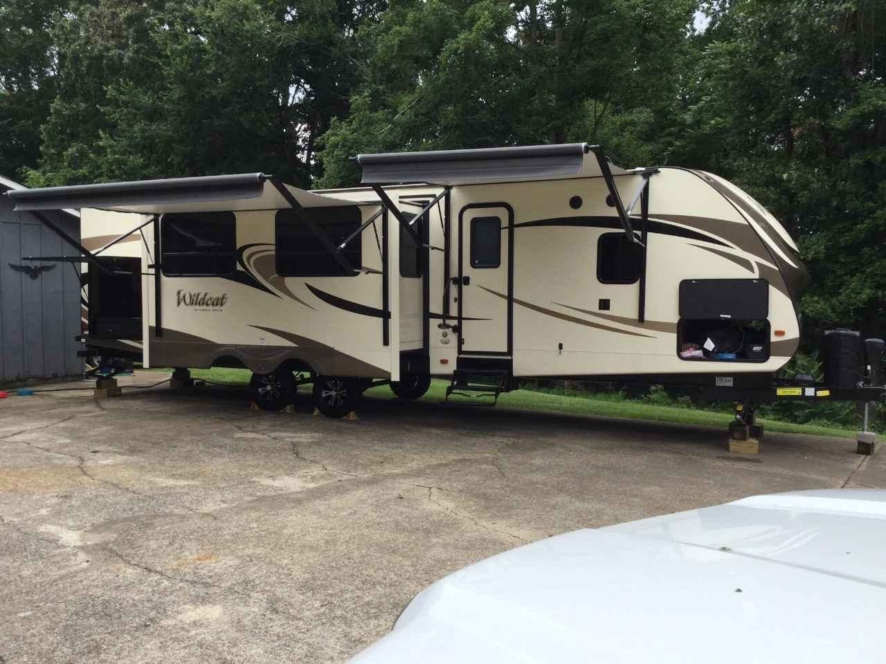 2017 Used Forest River Wildcat BUNKHOUSE Travel Trailer in ...