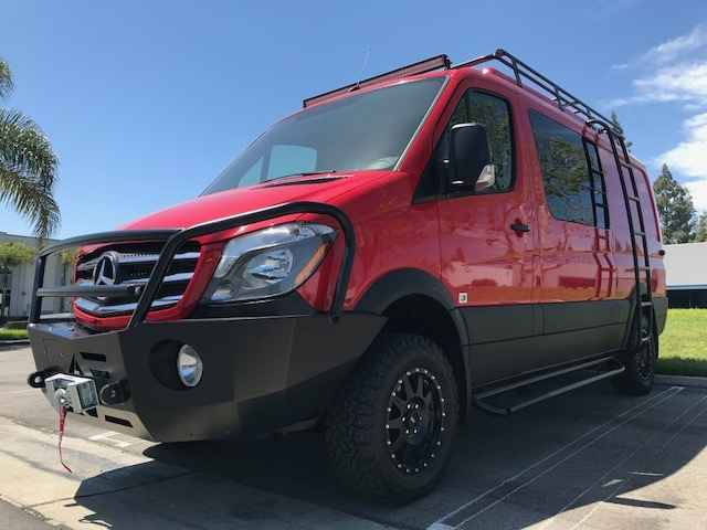 Mercedes Sprinter Outfitters