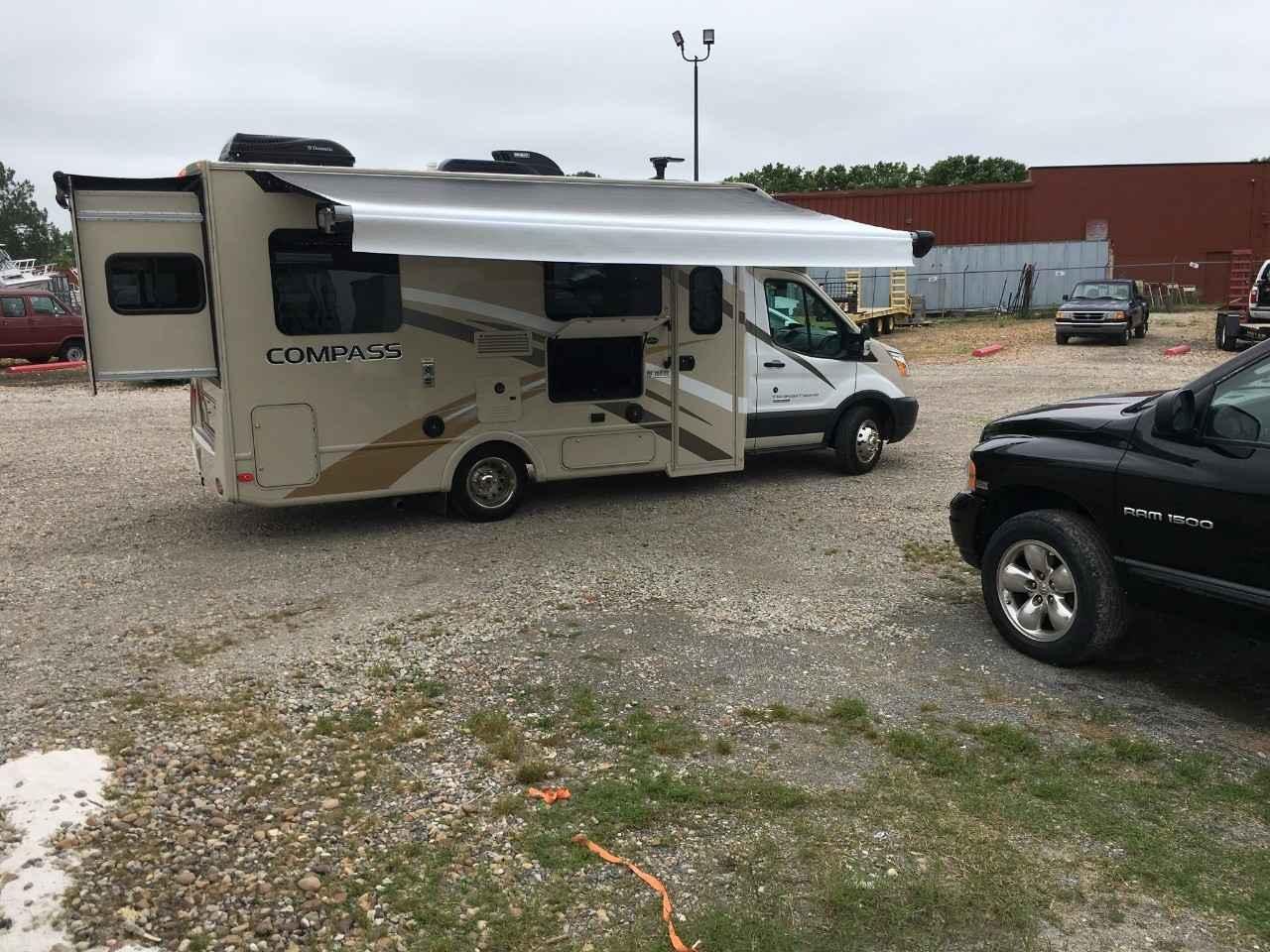 2017 Used Thor Motor Coach Compass 23tr Class C In Virginia Va