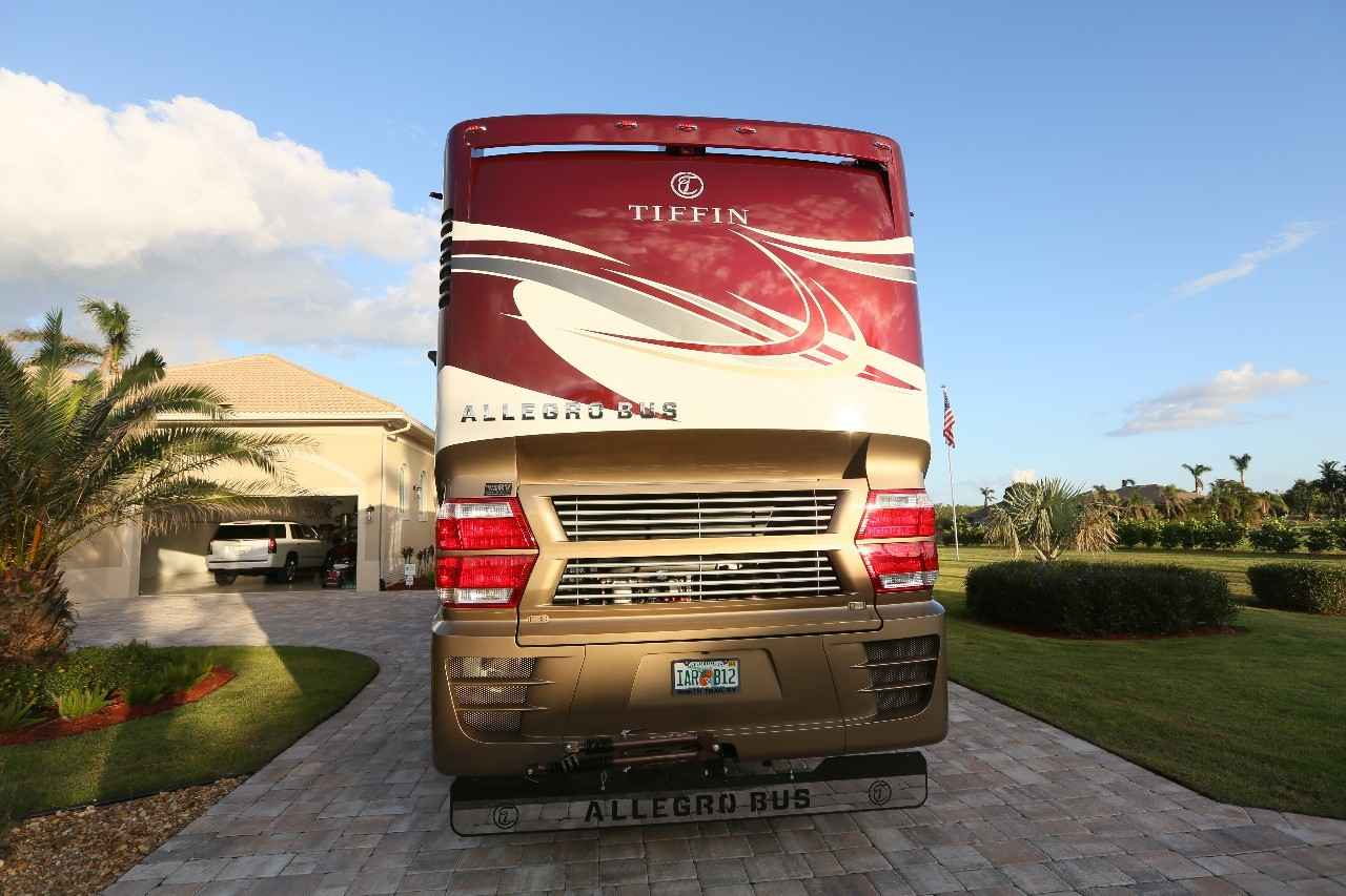 2017 used tiffin motorhomes allegro bus 45 opp class a in for Motor vehicle naples fl