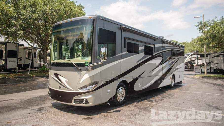 2017 Used Tiffin Motorhomes Phaeton 40ah Class A In Florida Fl