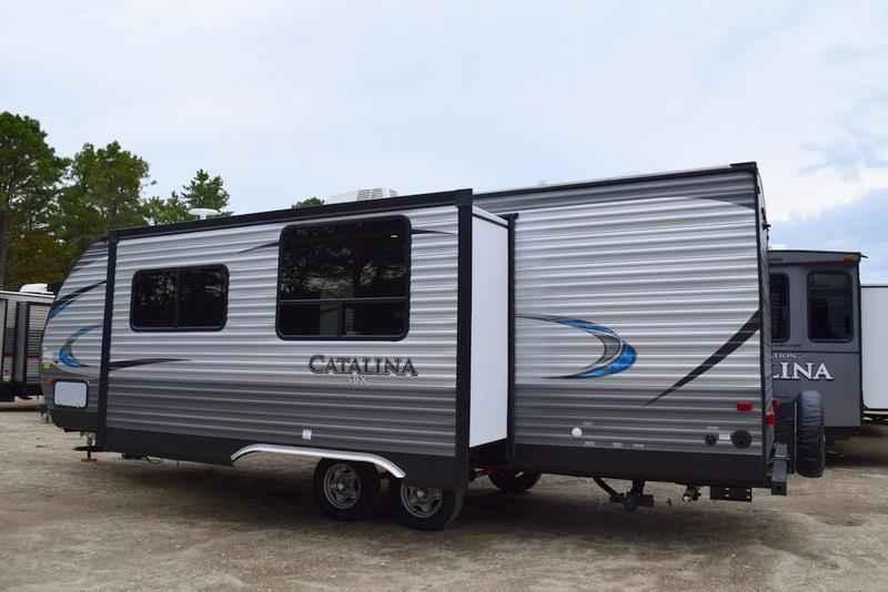2018 New Coachmen Catalina Sbx 261bhs Sbx Slide W Dbl Bed