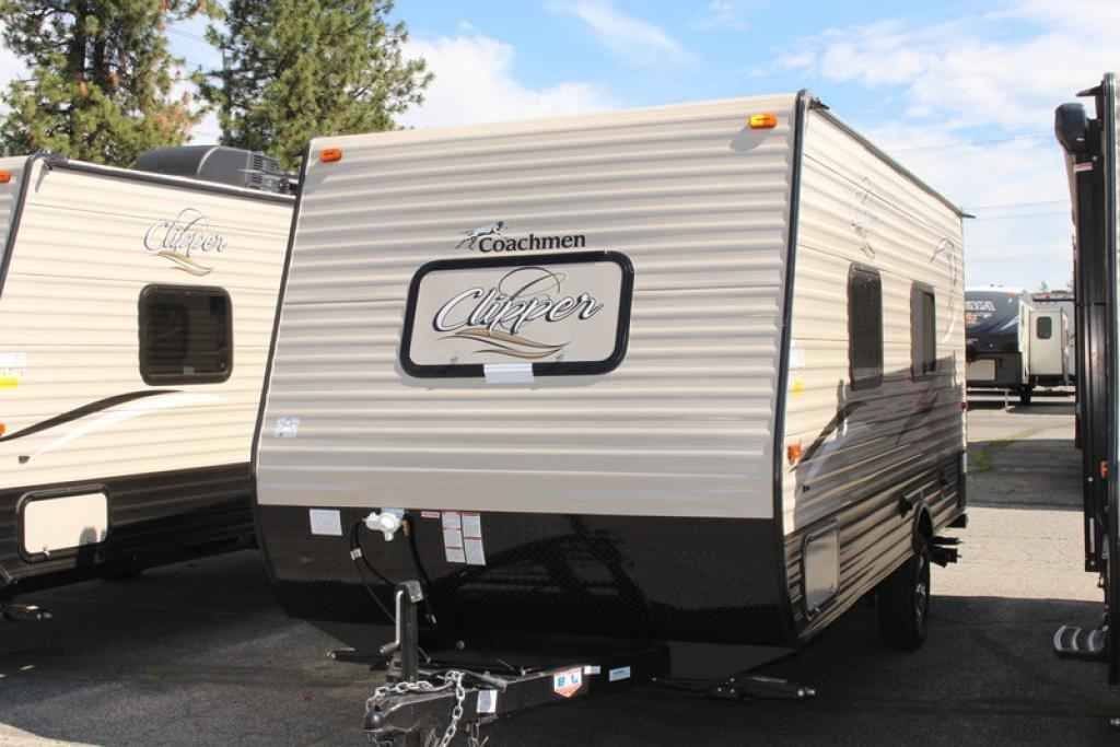 2018 New Coachmen Clipper 17fq Travel Trailer In Washington Wa