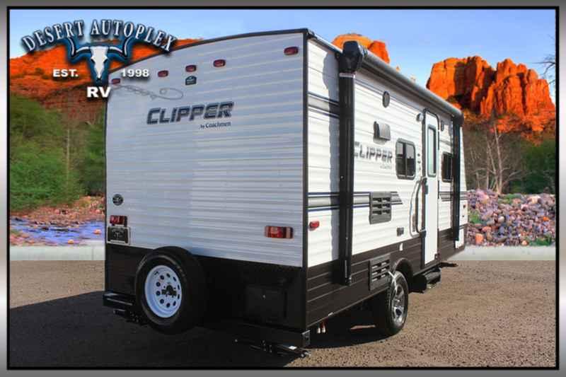 2018 New Coachmen Clipper Ultra Lite 17fq Travel Trailer
