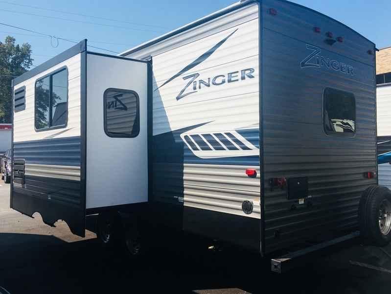 2018 New Crossroads Rv Zinger ZR229RB Travel Trailer in ...