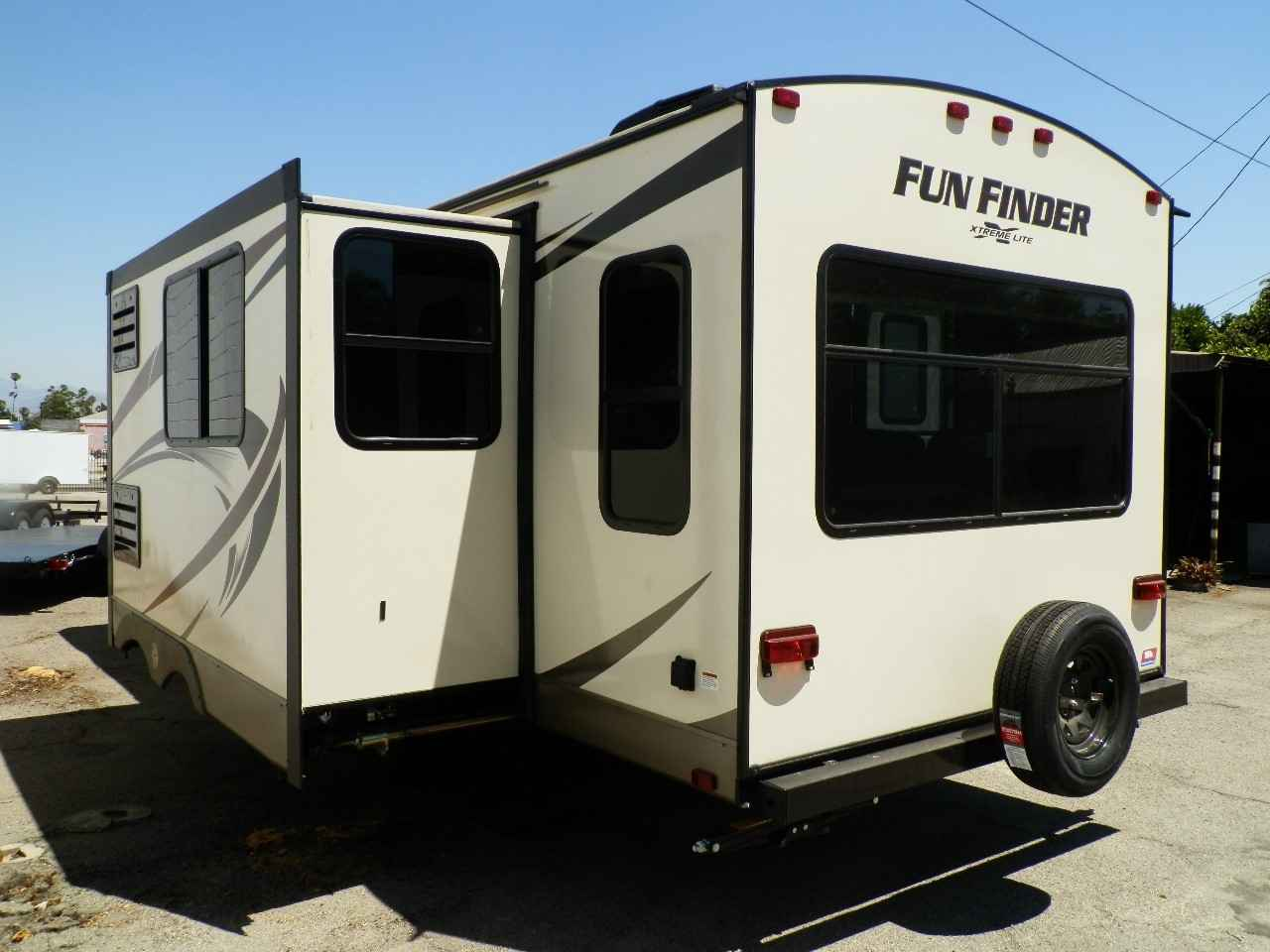 2018 New Cruiser Rv Corp Fun Finder 25rs Travel Trailer In