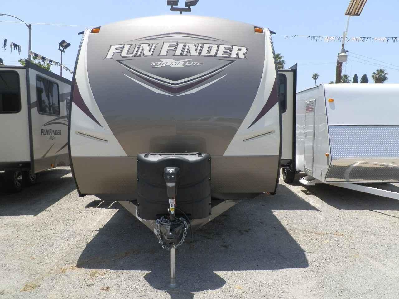 2018 New Cruiser Rv Corp Fun Finder Extra 23bh Travel