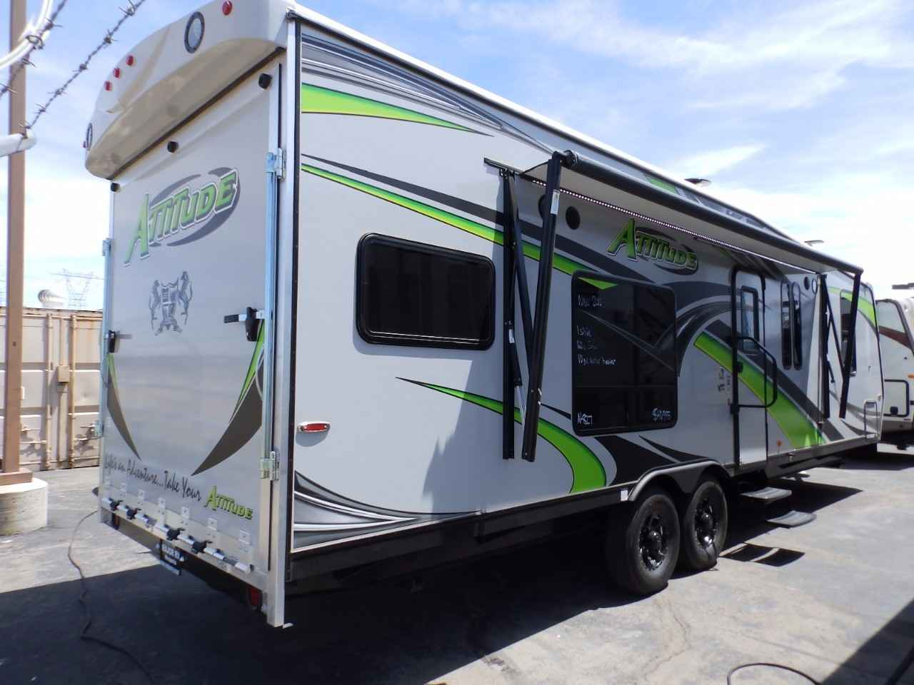 2018 New Eclipse Recreational Vehicles Attitude 28ibg 1