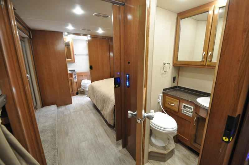 2018 new fleetwood bounder 36h bunk house bath 1 2 rv for 2 bathroom class a rv