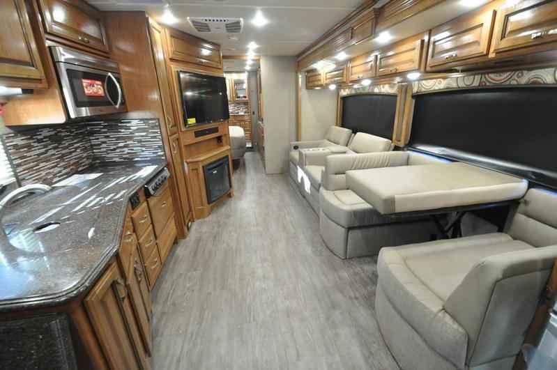 2018 New Fleetwood Pace Arrow 36U Bath & 1/2 RV For Sale W/Theater