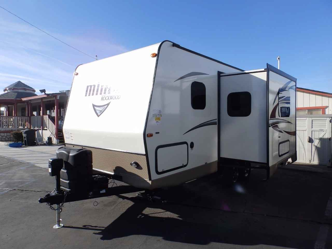 Rockwood Travel Trailer With Murphy Bed