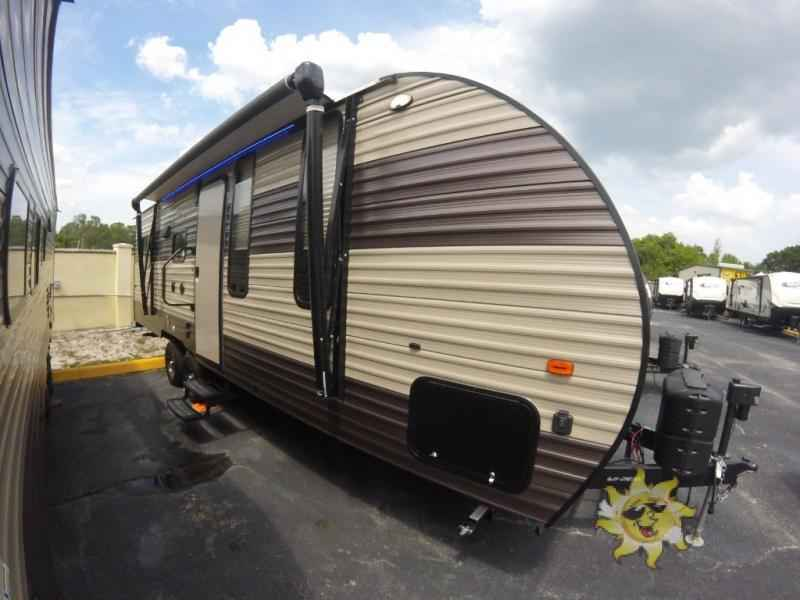 2018 New Forest River Rv Cherokee Grey Wolf 22RR Toy ...
