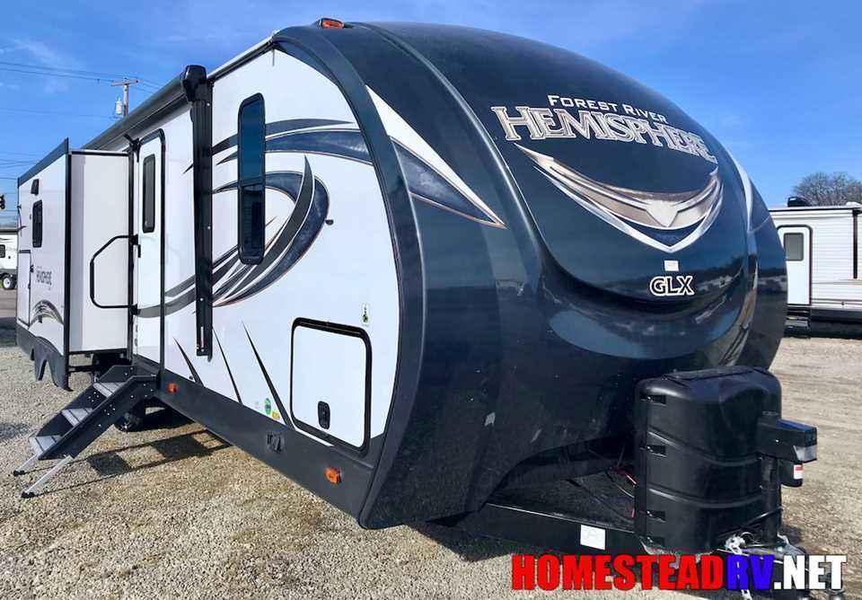 Ohio Rv Dealers >> 2018 New Forest River Rv Salem Hemisphere GLX 272RL Travel ...