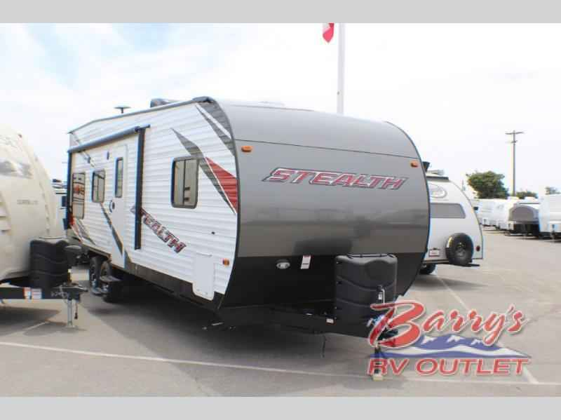2018 New Forest River Rv Stealth 2313 Toy Hauler In