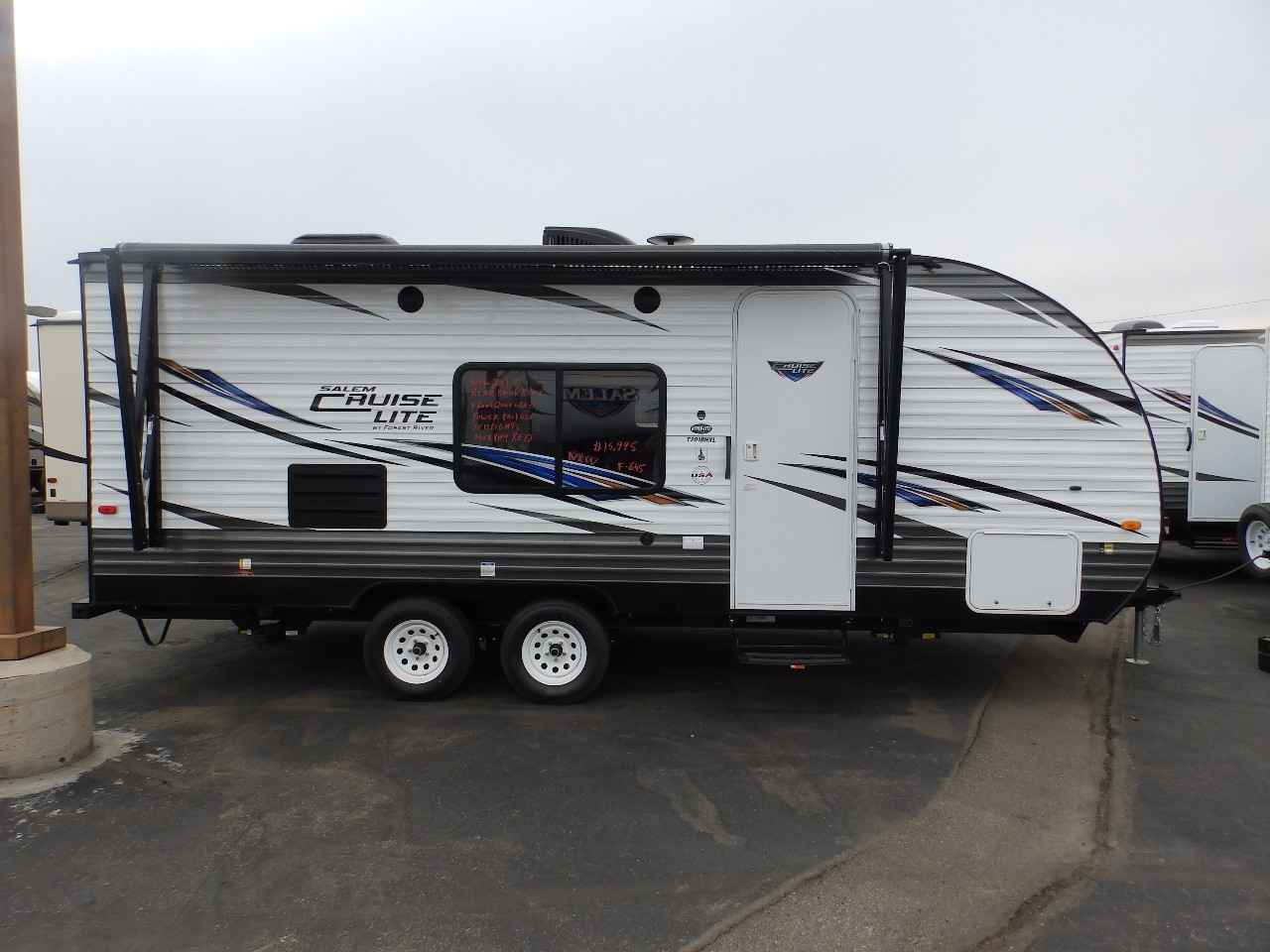 2018 New Forest River Salem 201bhxl Front Murphy Bed