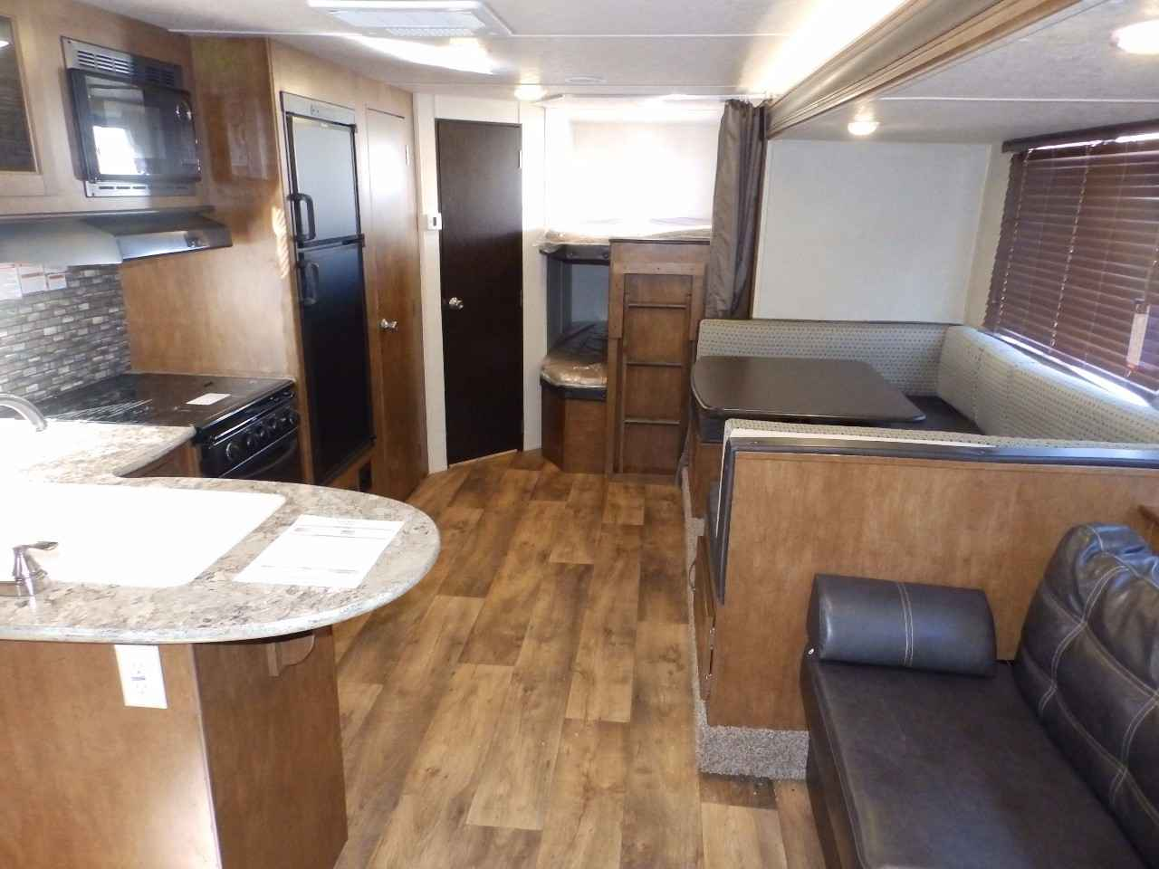Vehicle New Forest River Salem Bhxl Slide Rear Bunks Power Package Travel Trailer In California Ca A A C D B Abd on Interior Of Travel Trailer Bunks