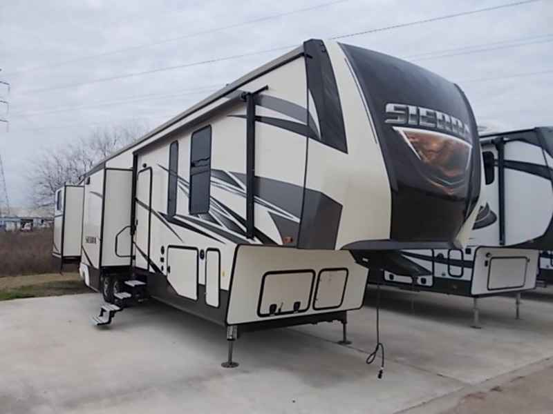 2018 New Forest River Sierra 384qbok Fifth Wheel In Texas Tx