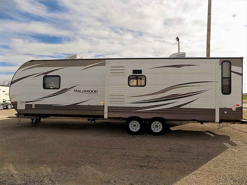 2018 New Forest River Wildwood 27REIS Travel Trailer in ...