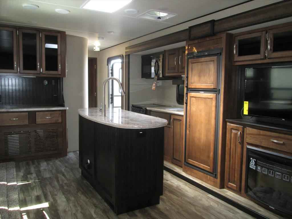 True Market Value >> 2018 New Grand Design Reflection 297RSTS Rear Sofa Theater Seats/Dinette 2 Sl Travel Trailer in ...