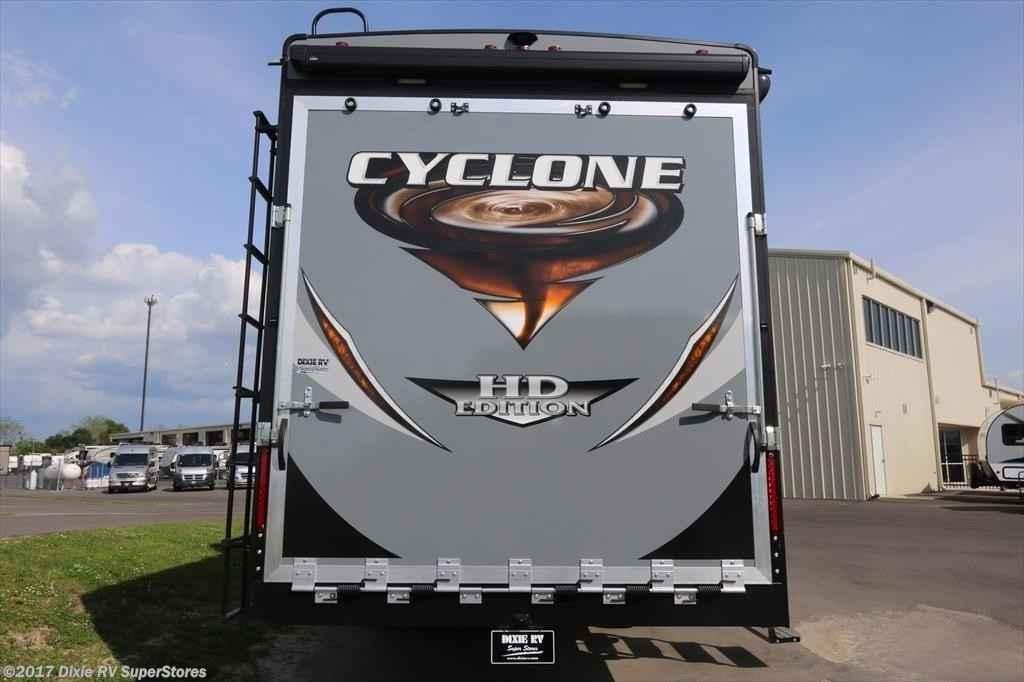 2018 New Heartland Cyclone 3600 Toy Hauler In Louisiana La