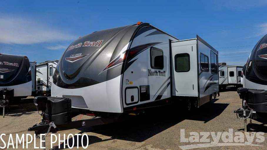 2018 New Heartland North Trail 24bhs Travel Trailer In