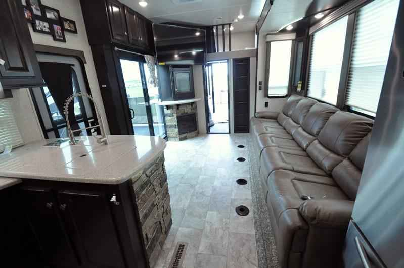 Simple 2018 New Heartland Rv Road Warrior RW427 Dual Pane Arctic