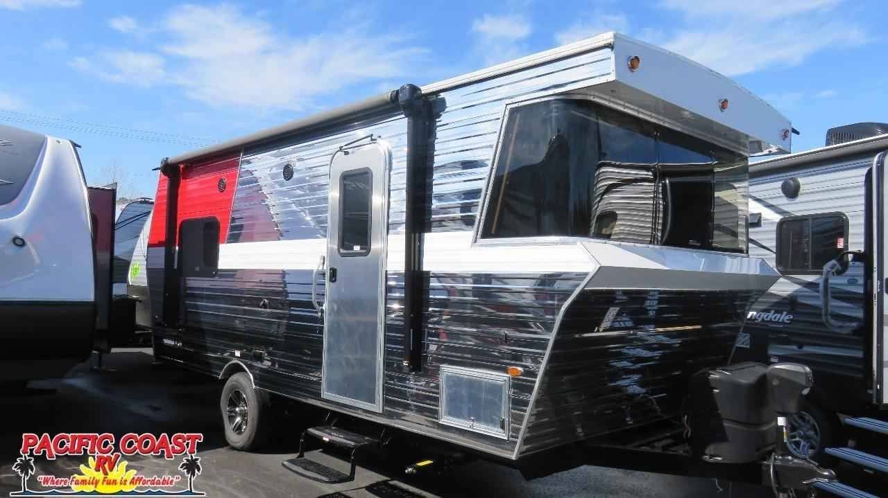 Model 2018 New Heartland Terry Classic V21 Travel Trailer In