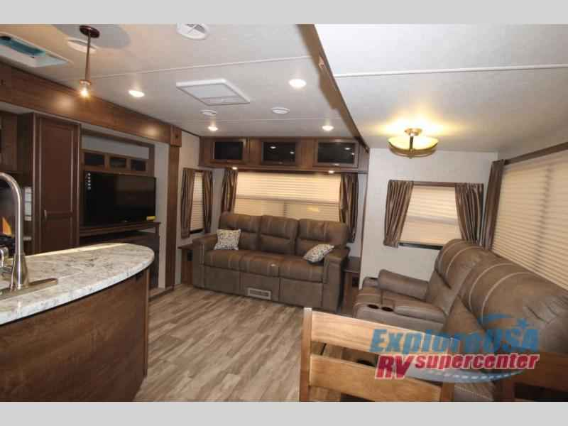 Light Rls Rear Living Travel Trailer