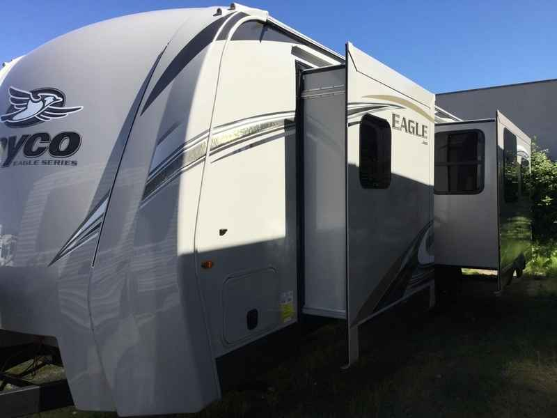 Brilliant 2017 Jayco Eagle Ht Travel Trailers 306rkds For Sale  Rhone39s Travel Tra