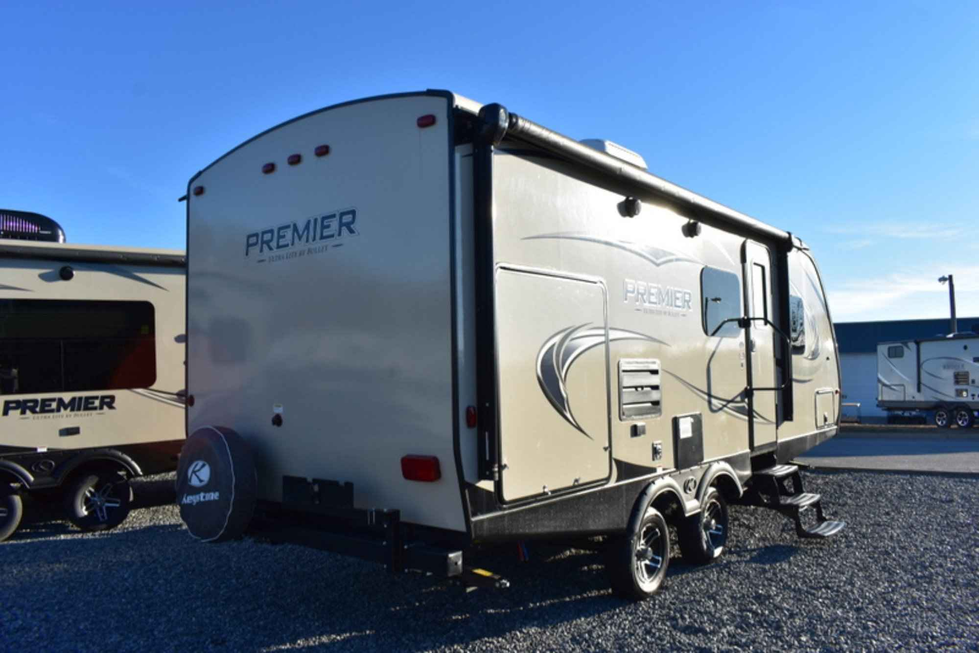 2018 New Keystone PREMIER 22RB Travel Trailer in Virginia VA