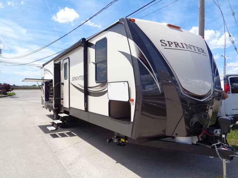 2018 New Keystone Rv Sprinter Wide Body 312MLS Travel